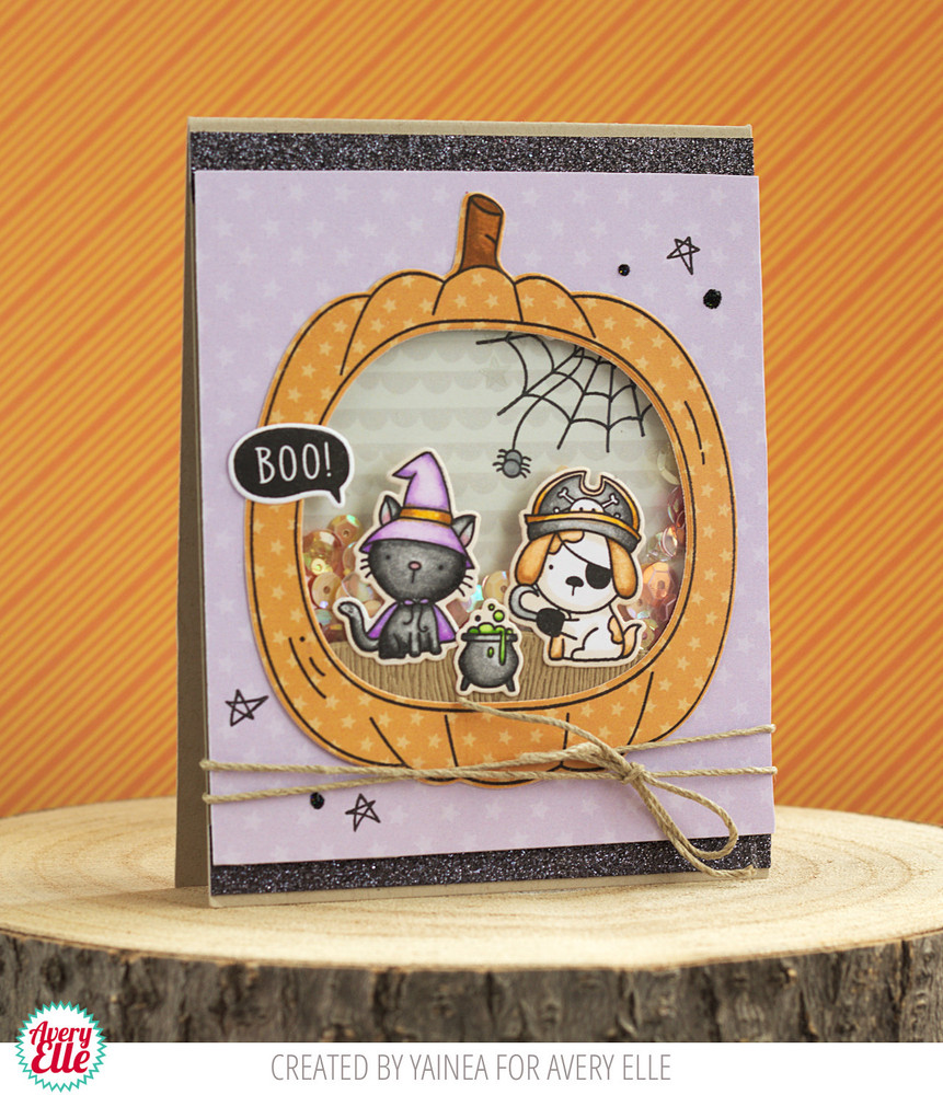 Boo To You Clear Stamps & Dies