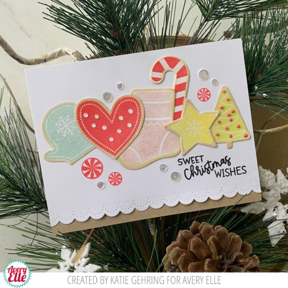 Christmas Cookies Clear Stamps & Dies