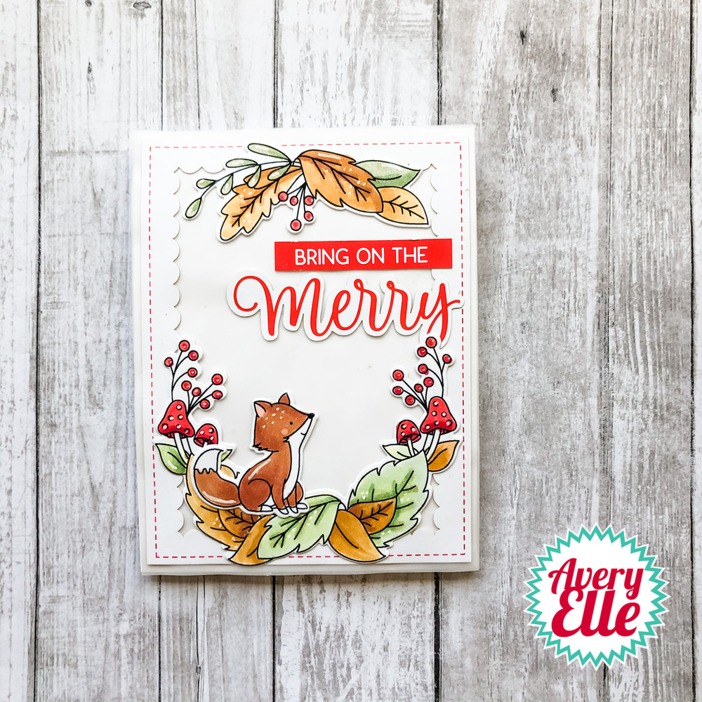 Create this adorable project using our Holiday Cards & Tag Bundle