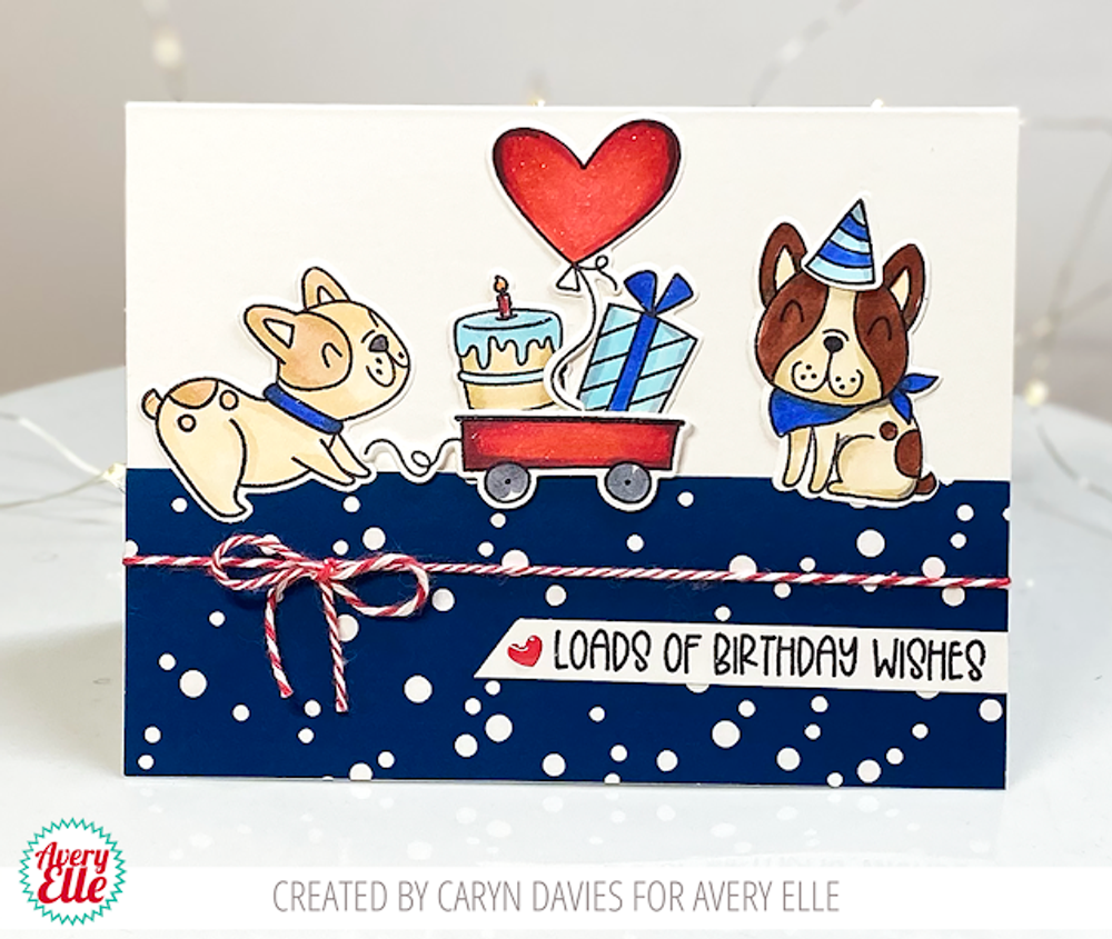 Frenchie Clear Stamps & Dies