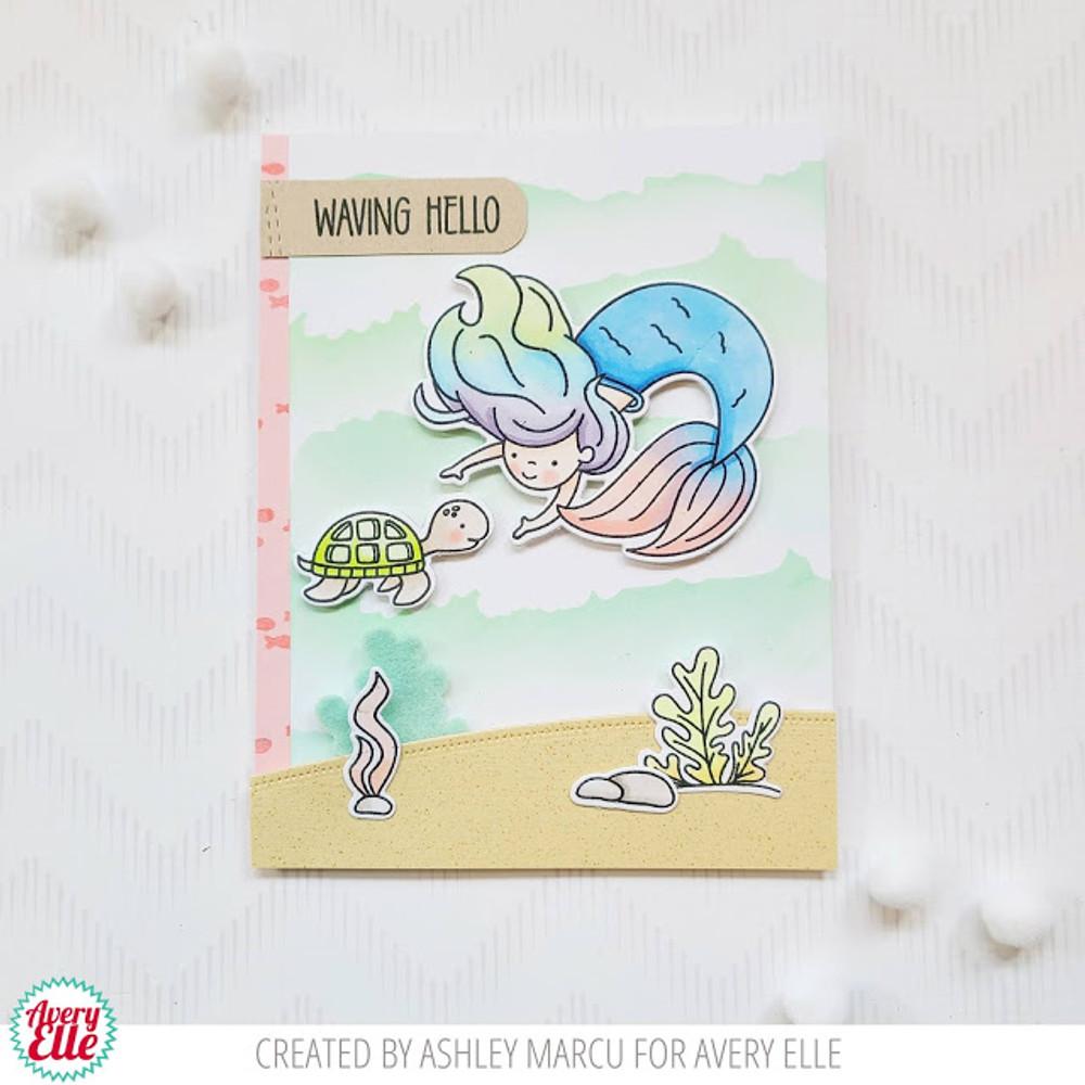 Underwater Friends Clear Stamps & Dies