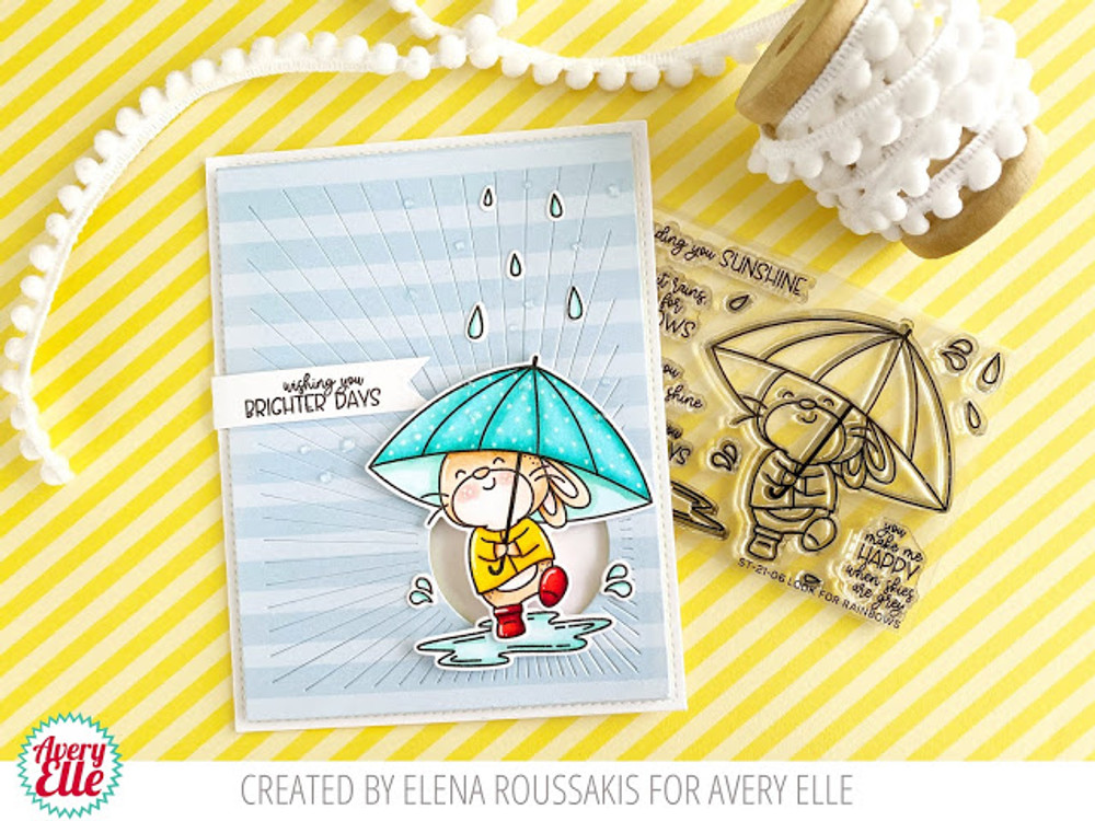 Look For Rainbows Clear Stamps & Dies