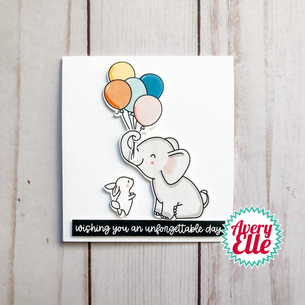 Elephantastic Clear Stamps & Dies