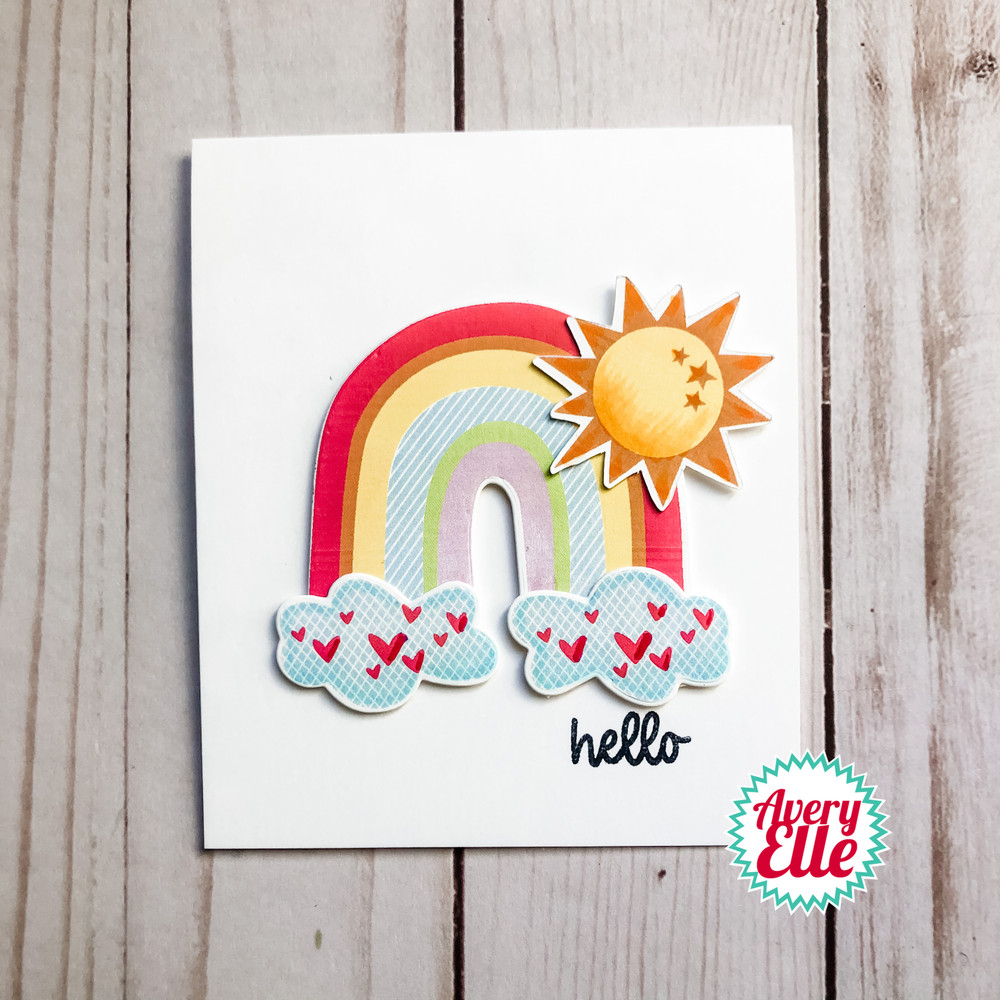 Sunshine Clear Stamps & Dies