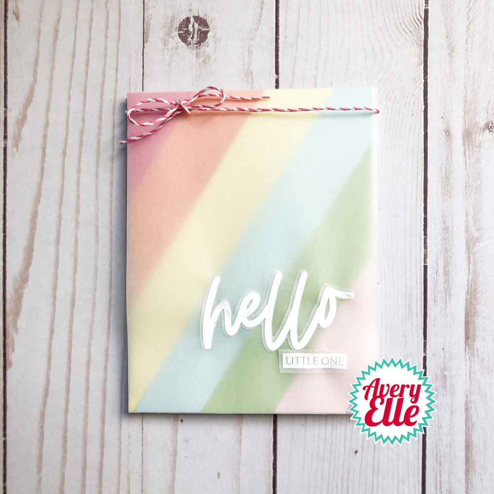 Loads Of Hello Clear Stamps & Dies
