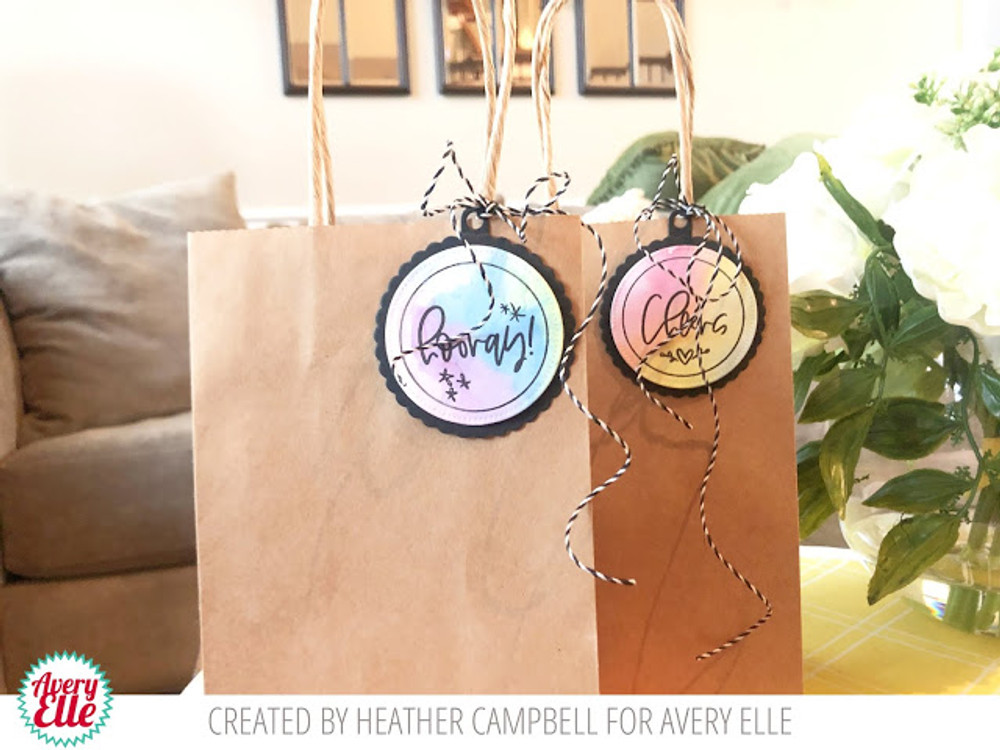 Everyday Circle Tags Clear Stamps