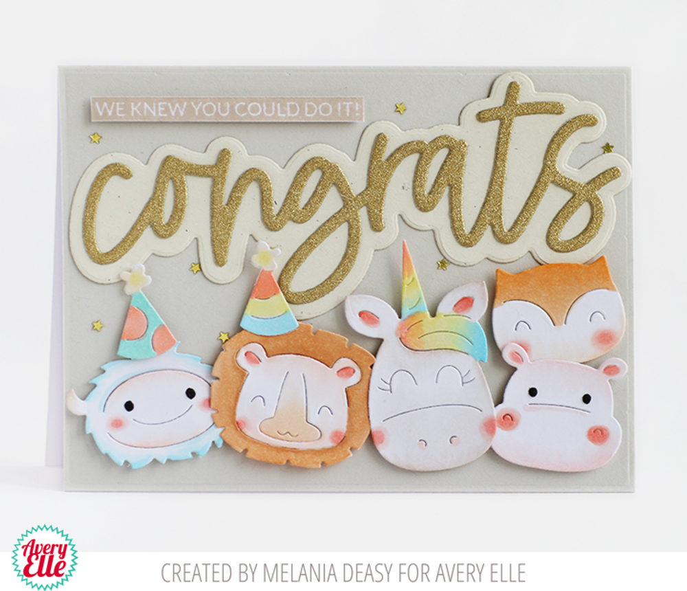 Peek-A-Boo Birthday Tag Toppers Dies
