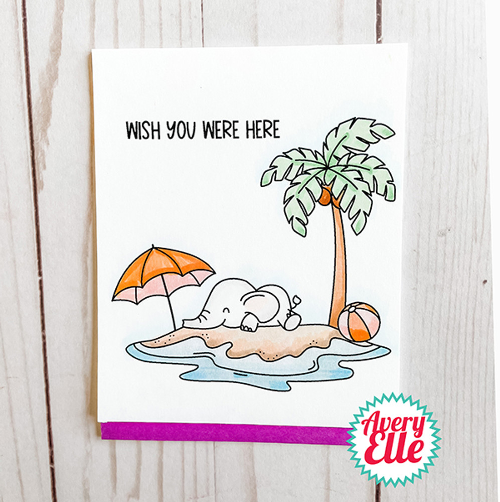 Island Time Clear Stamps & Dies