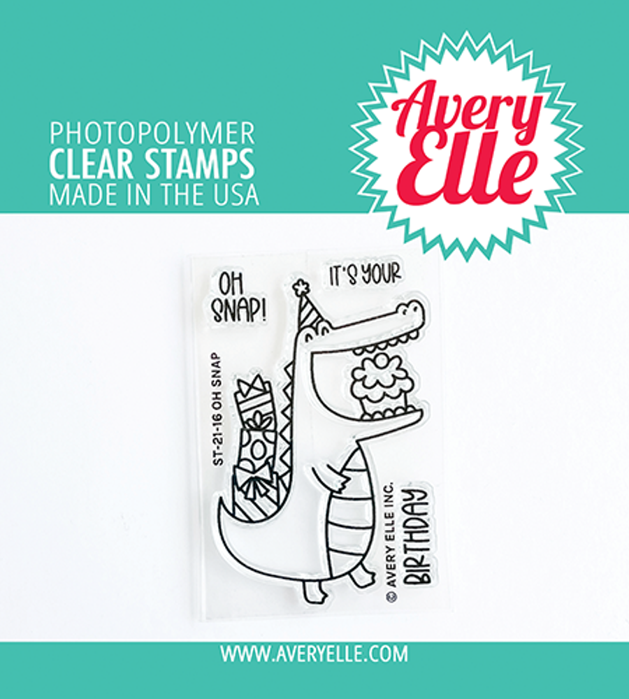 Avery Elle Oh Snap Clear Stamps