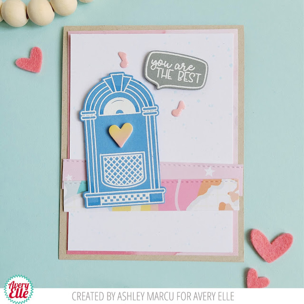 You Rock Clear Stamps & Dies