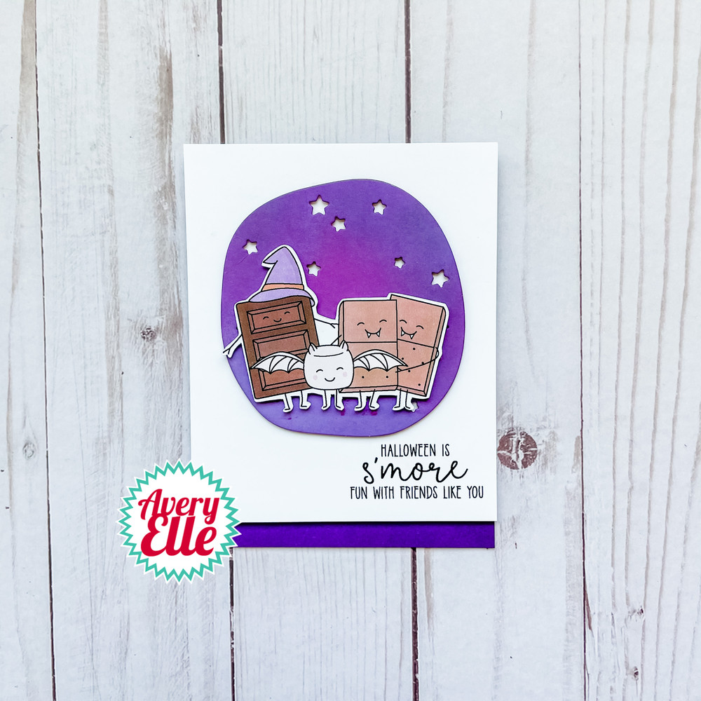 Halloween S'mores Clear Stamps & Dies