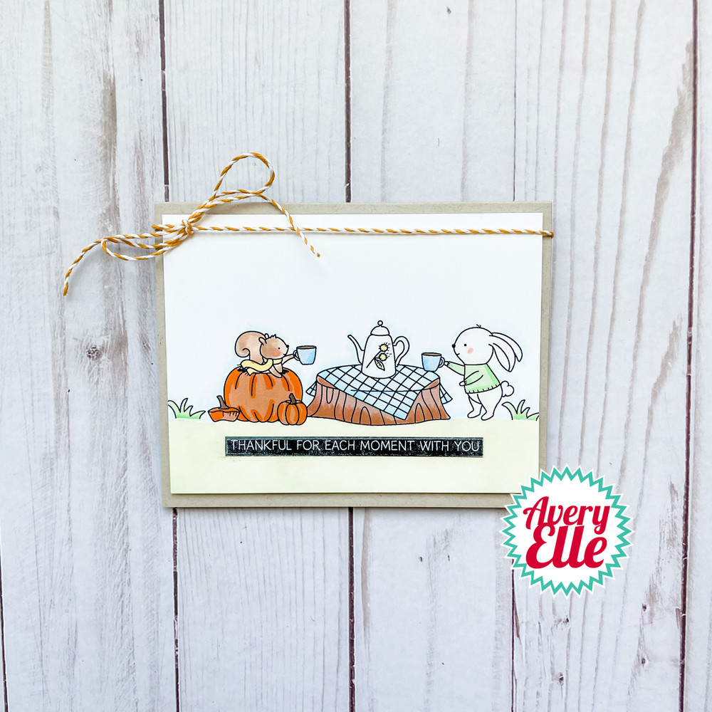 Fall Picnic Clear Stamps & Dies