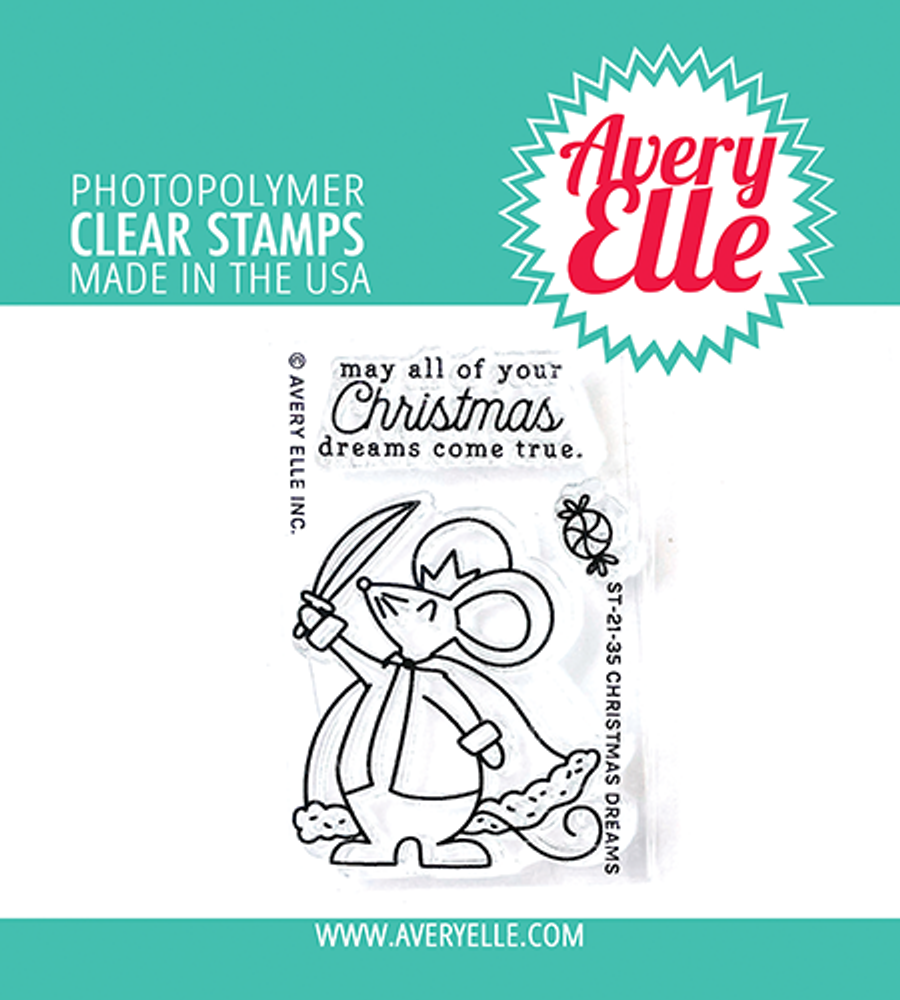 Avery Elle Christmas Dreams Clear Stamps