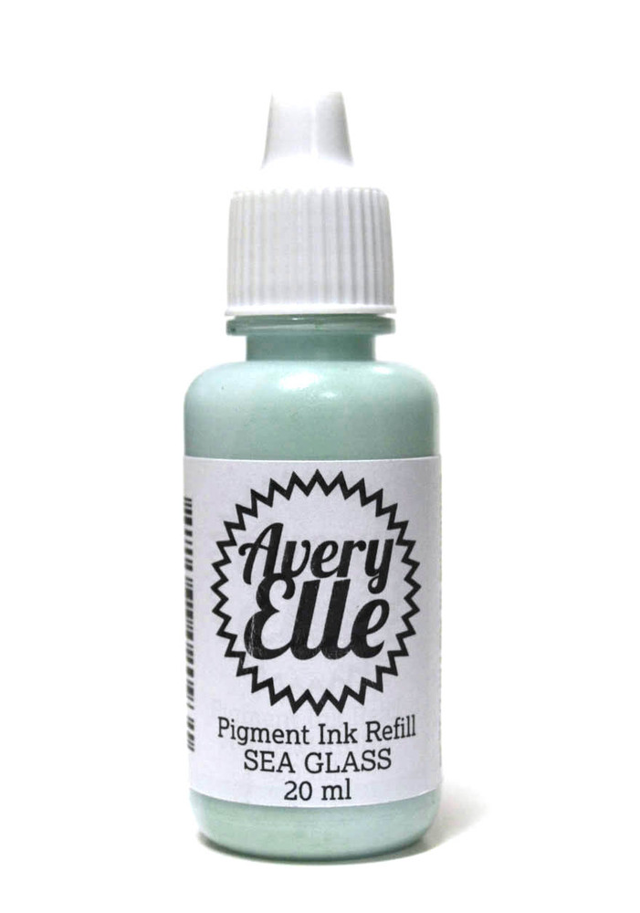 Our Sea Glass Ink Refills extends the life of our Sea Glass Pigment Ink Pads.