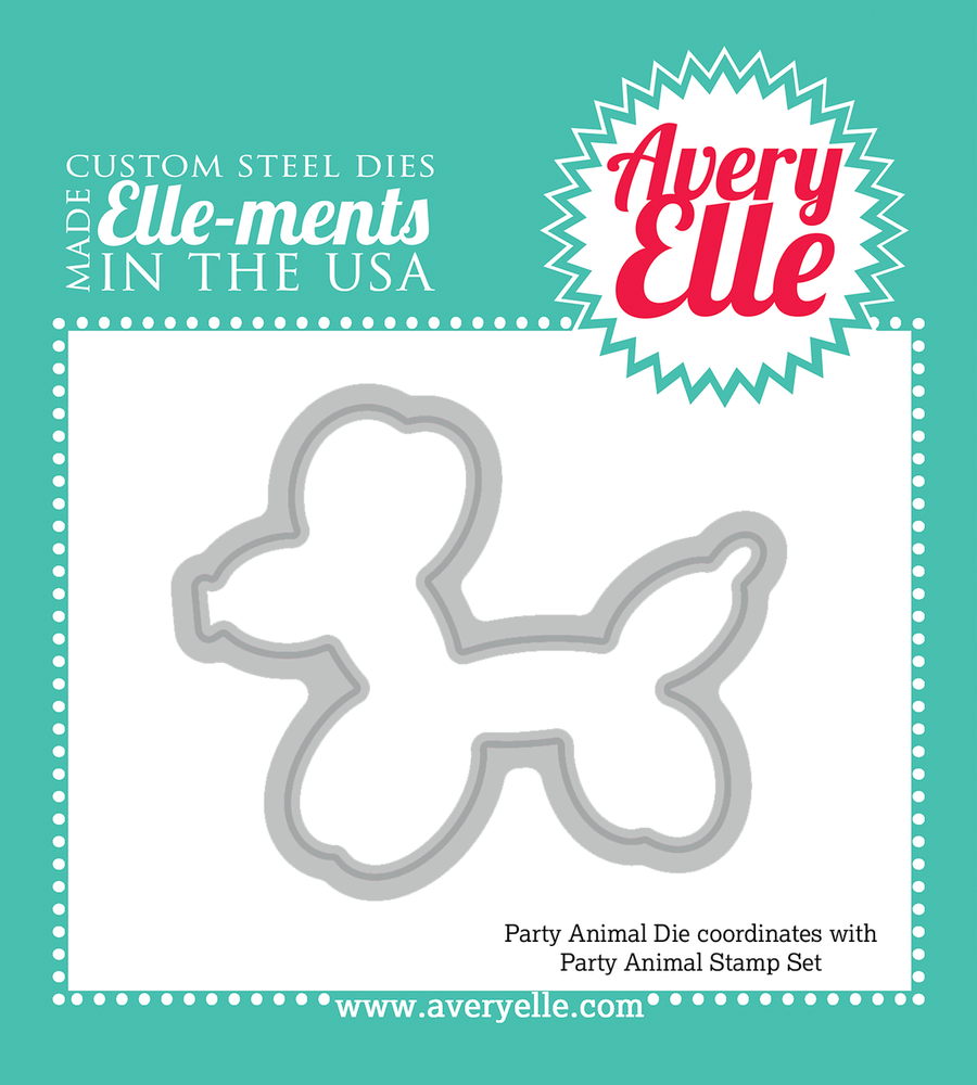 Avery Elle Party Animal Die Set
