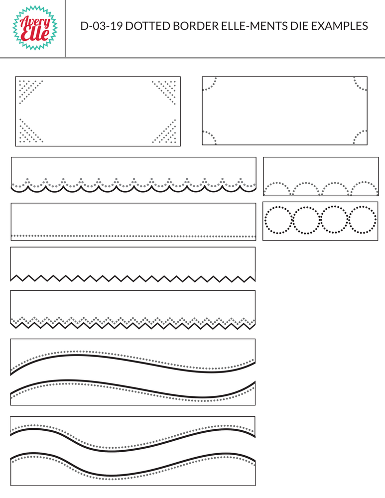 Dotted Borders Examples