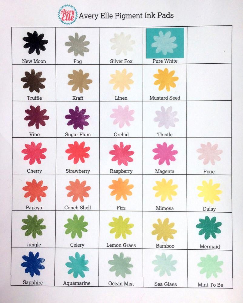 Ocean Mist Pigment Ink Pad