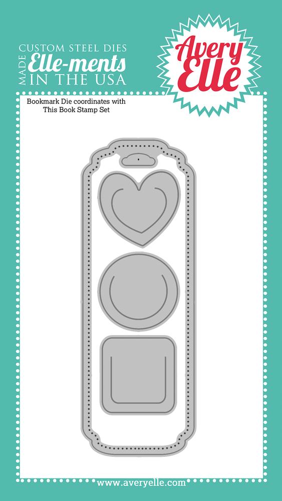 Custom Steel Die - Bookmark by Avery Elle Inc.