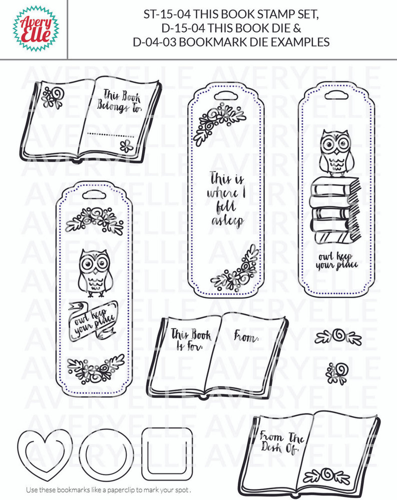 Die: Bookmark Elle-ments