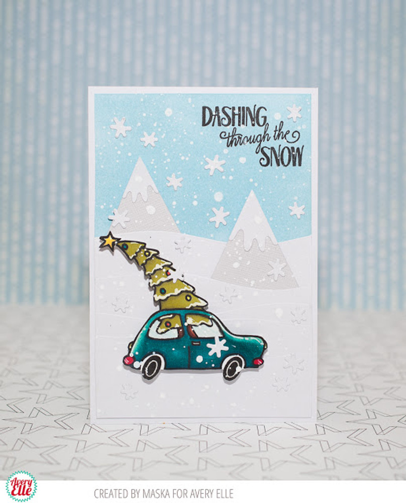 Dashing Clear Stamps