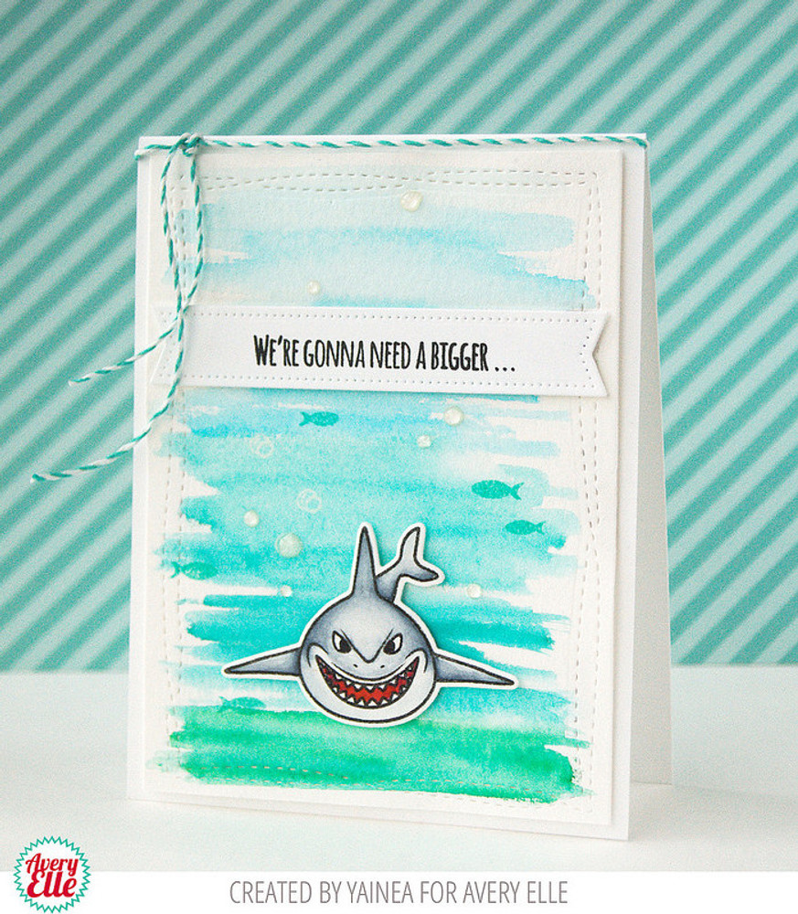 Hello Chum Clear Stamps