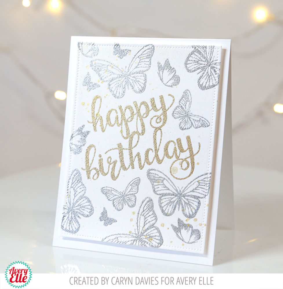 Butterflies Clear Stamps