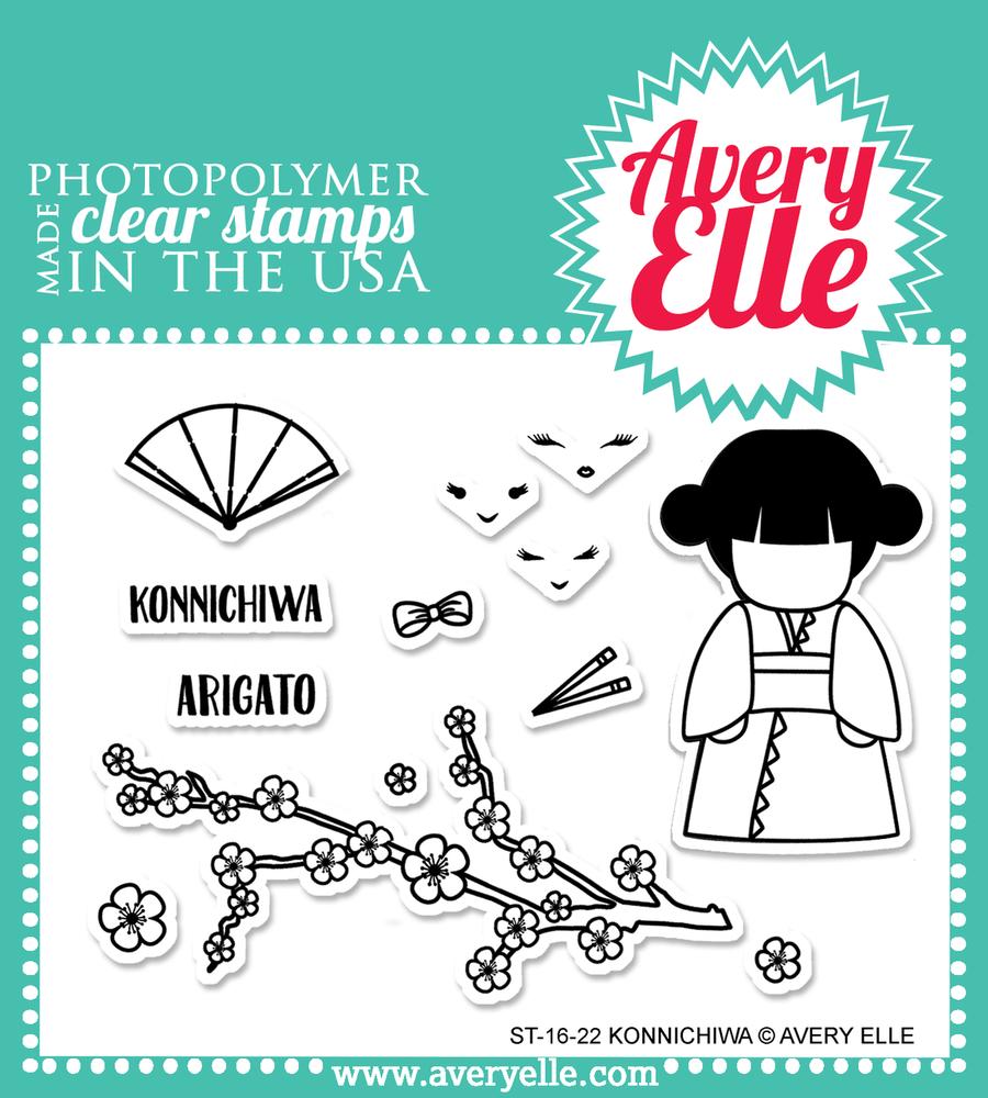 Konnichiwa Clear Stamps