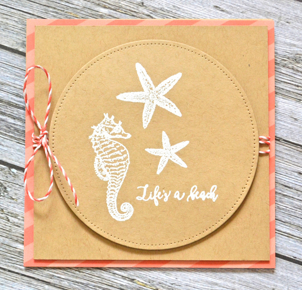 The Reef Clear Stamps & Dies
