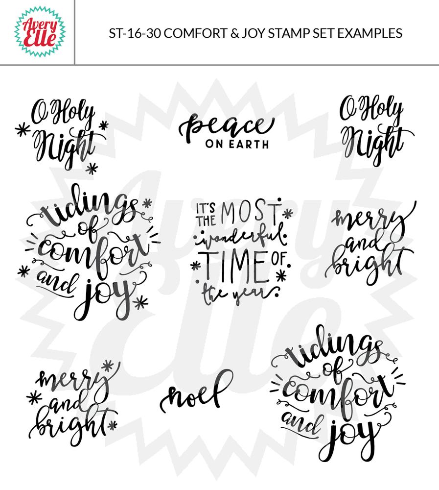 Comfort & Joy Example