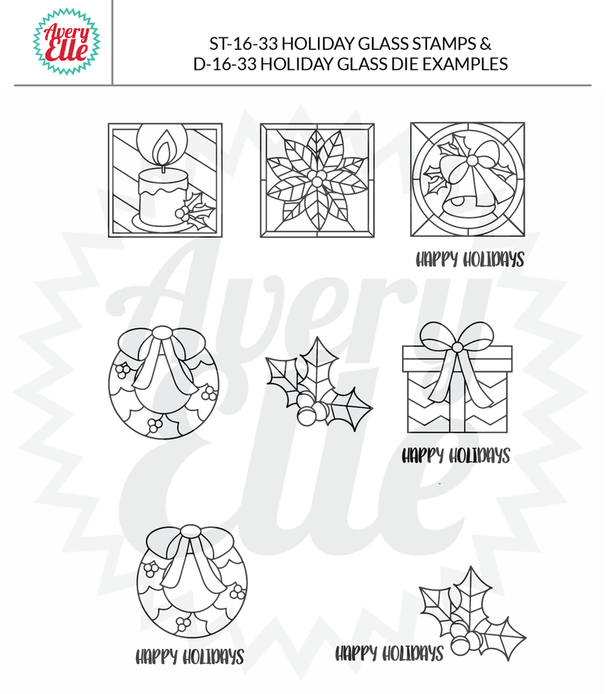 Holiday Glass Example