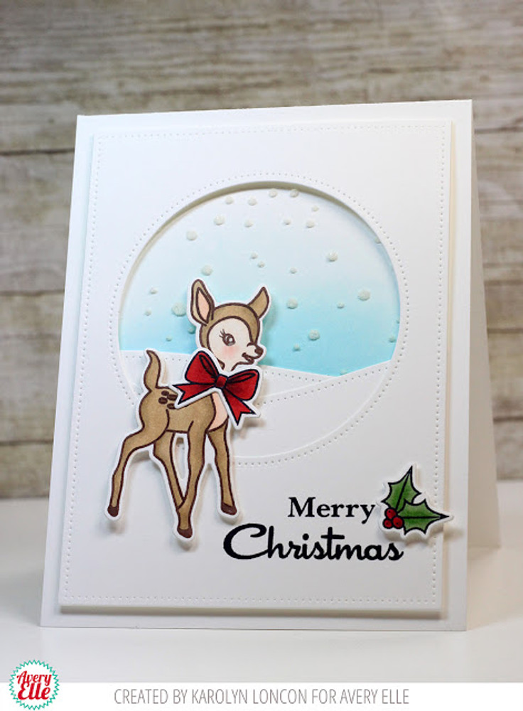 Kitsch Christmas Clear Stamps & Dies