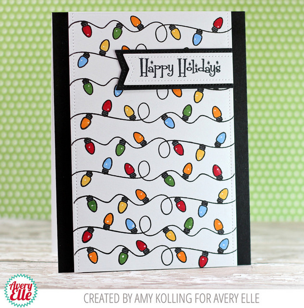 Retro Ornaments Clear Stamps