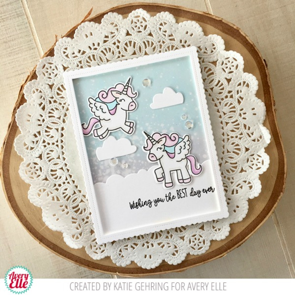 Pegasus Duo Clear Stamps & Dies
