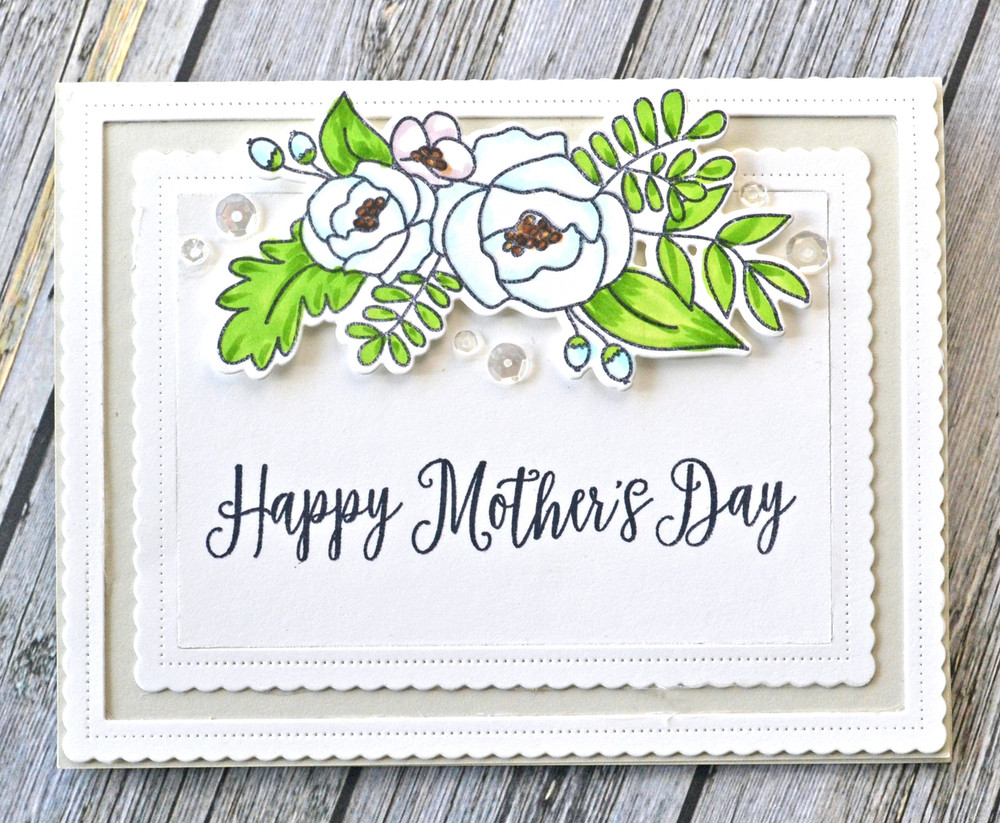Mother's Day Clear Stamps & Dies