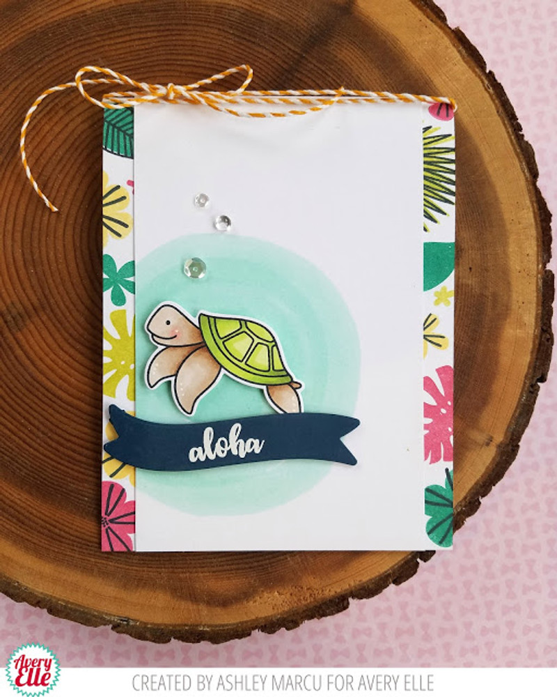 Tropics Clear Stamps