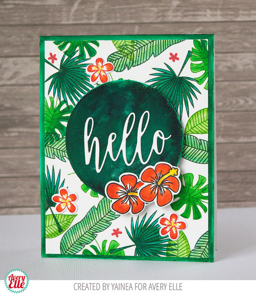 Tropics Clear Stamps & Dies