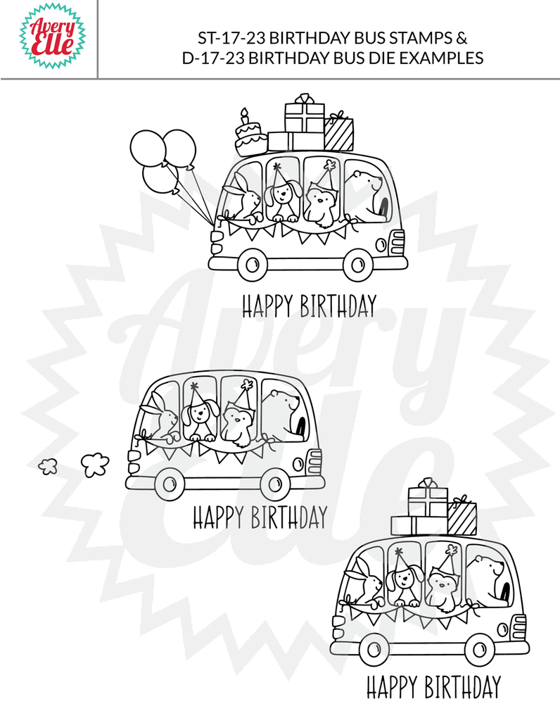 Birthday Bus Example