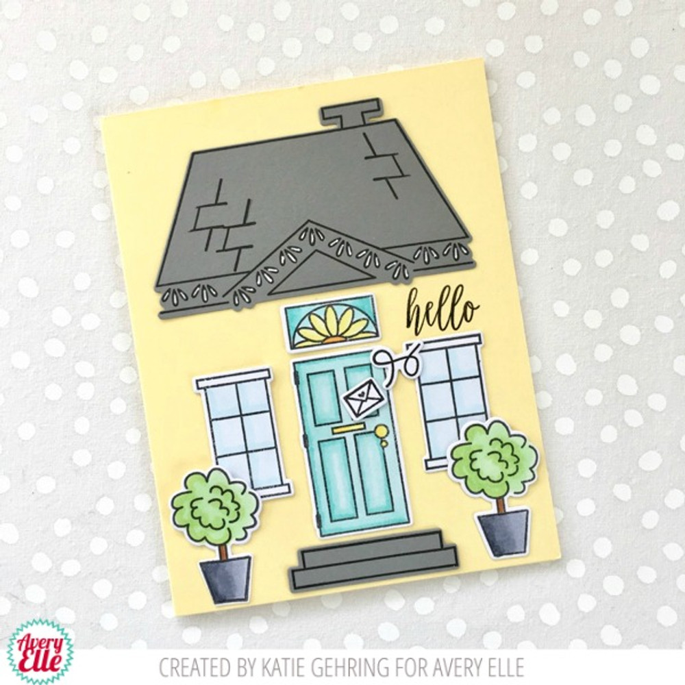 Welcome Home Clear Stamps & Dies
