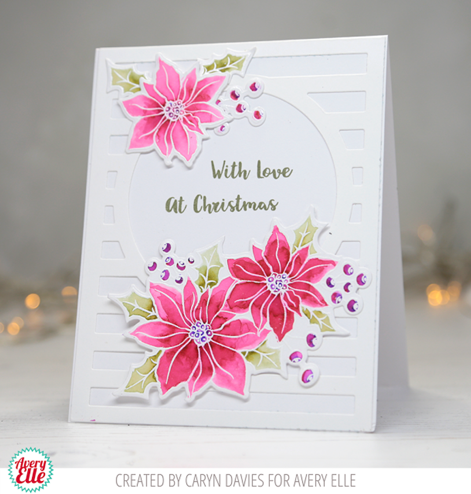Holiday Bouquet Clear Stamps & Dies