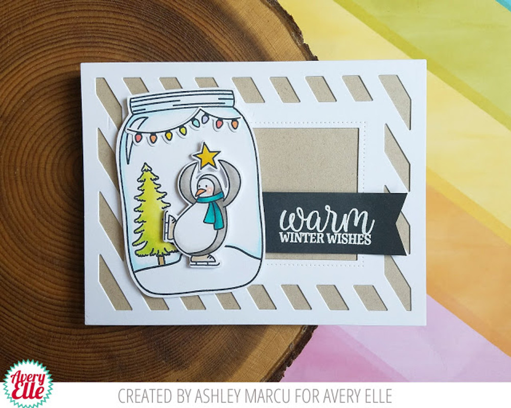 Warm Wishes Clear Stamps & Dies