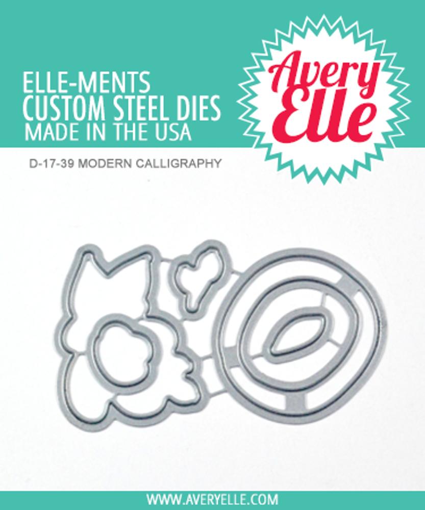 Avery Elle Modern Calligraphy Dies