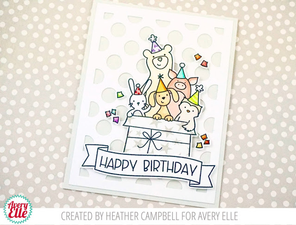 Critter Crew Clear Stamps & Dies
