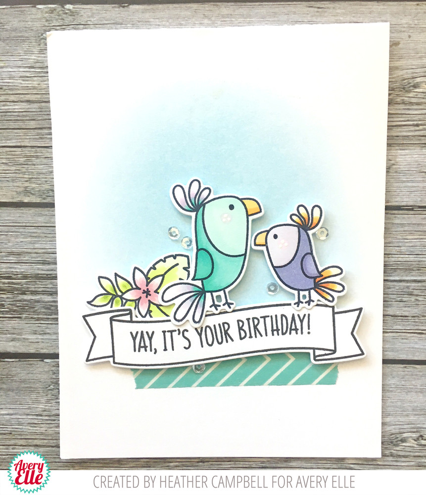 Toucan Party Clear Stamps & Dies