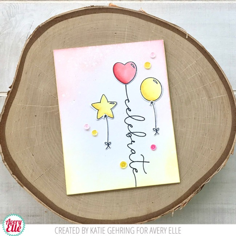 Floating Wishes Clear Stamps & Dies