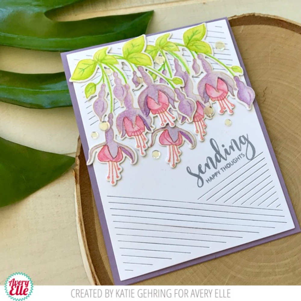 Fuchsia Clear Stamps & Dies