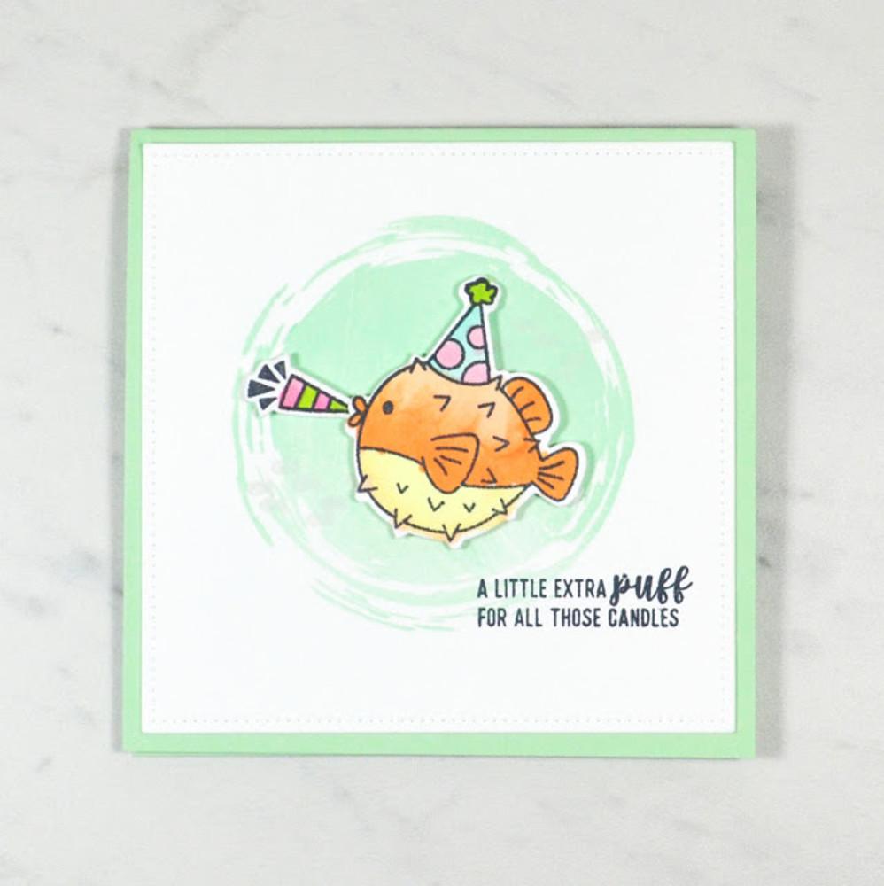Sea-prise! Clear Stamps & Dies