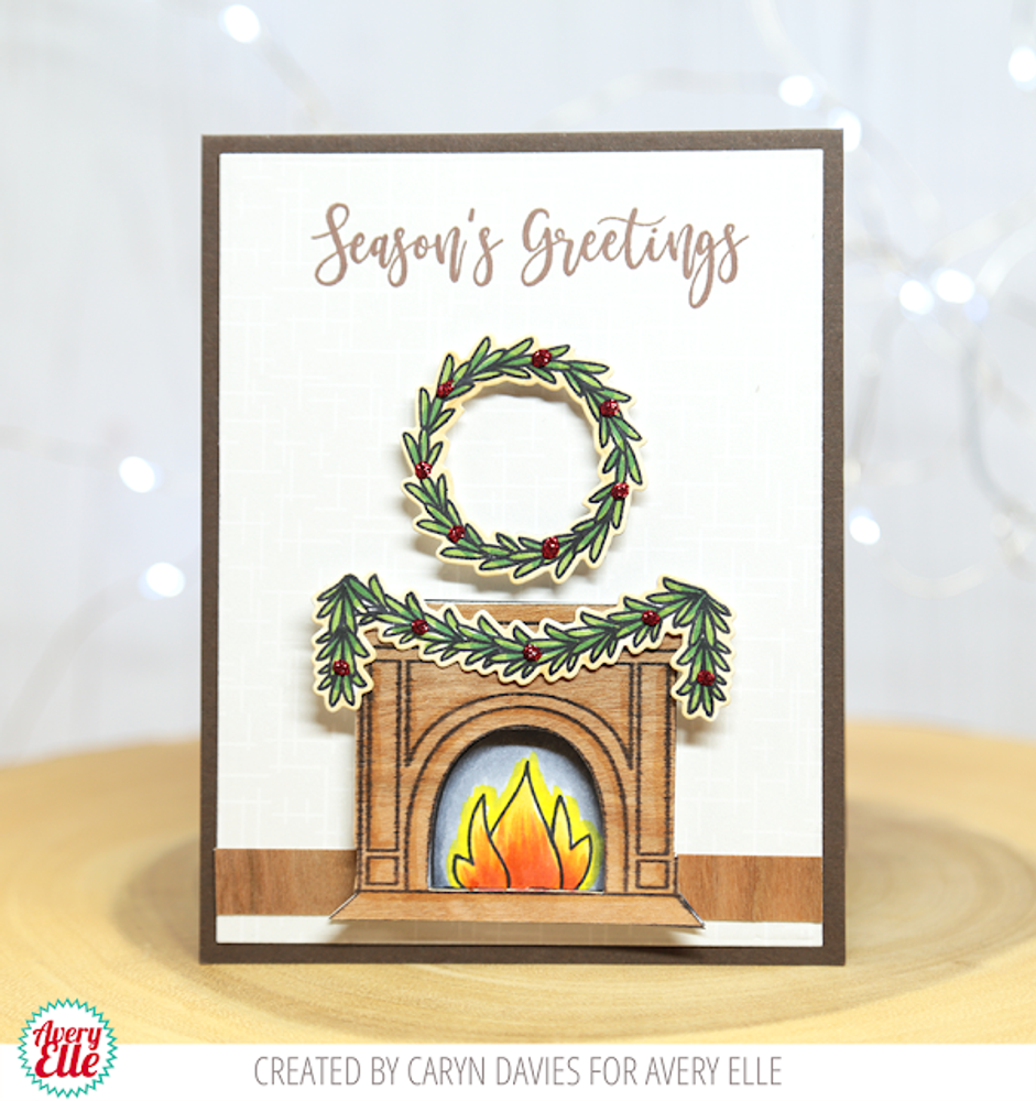 Fireside Clear Stamps & Dies