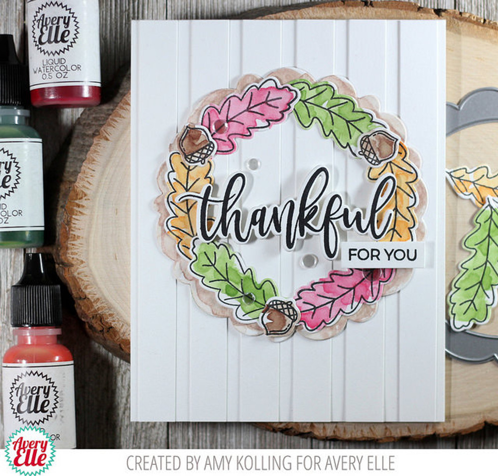 Grateful Clear Stamps & Dies