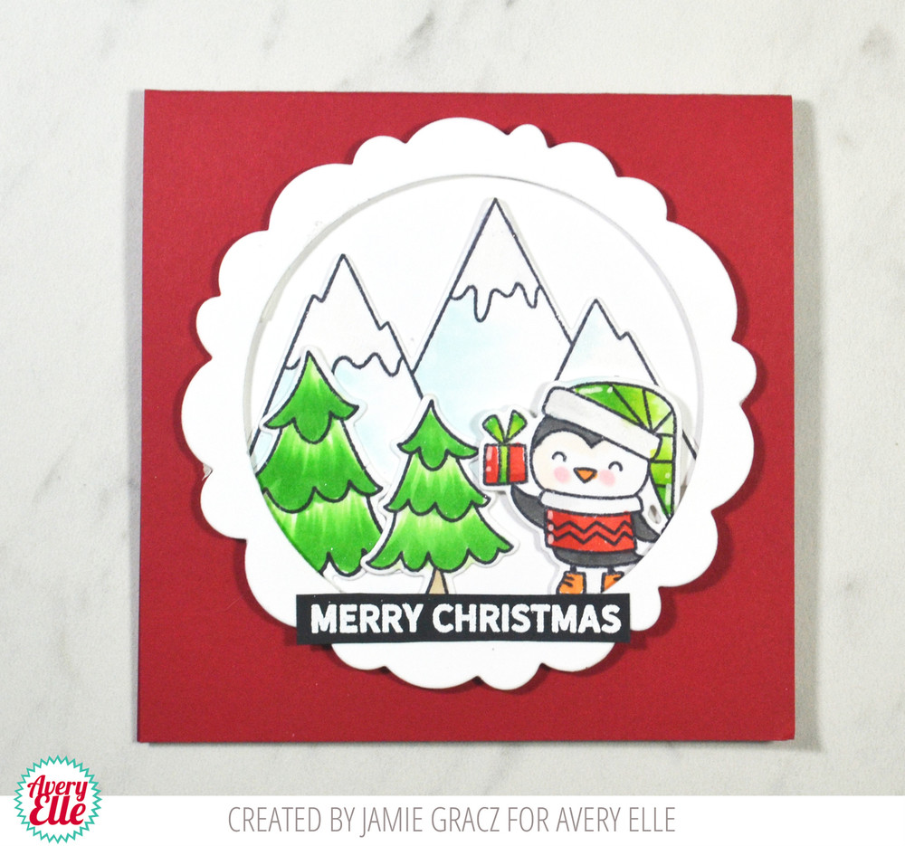 A Merry Little Christmas Clear Stamps & Dies