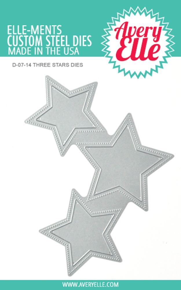 Avery Elle Three Stars Die